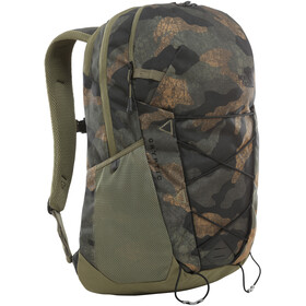 The North Face Jestorealis Selkäreppu, burnt olive green waxed camo print/burnt olive green